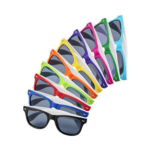Sun Ray Sonnenbrille mit weissen Bügeln