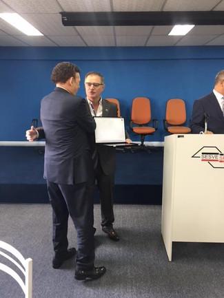Presidente Iuga presente em almoço promovido pelo SESVESP