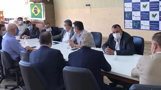 Reunião Vereador de São Paulo em defesa da aprovação do PL 135/2010 - Estatuto da Segurança Privada