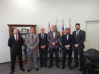 Segurança Privada é apresentada ao novo Secretário de Segurança Pública do Estado de São Paulo
