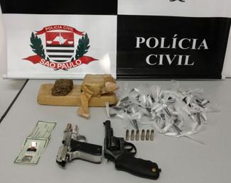 Polícia Civil de Campinas prende autor de roubos de carga praticados na região