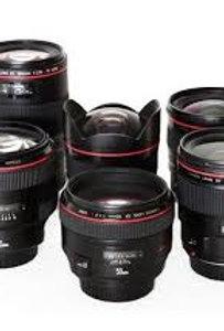 Cannon Camera Compatible Lense Rental