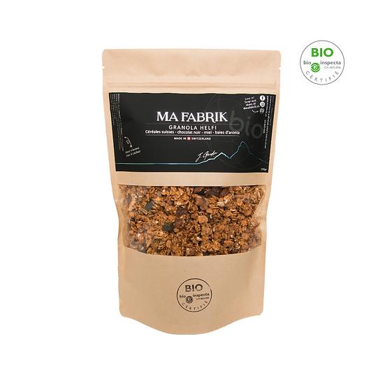 Granola Helfi - céréales Suisses - baies d'aronia