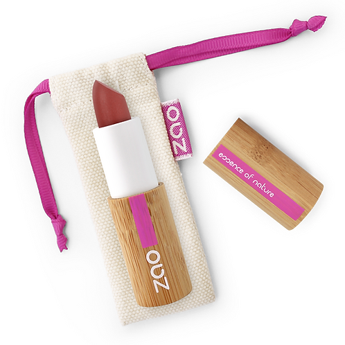 ZAO Barra de labios Mate 463 - Rose rouge