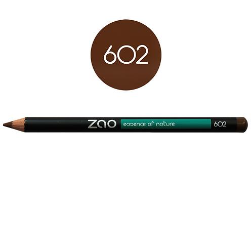 ZAO Lápiz 602 Multifunción - Brun foncé