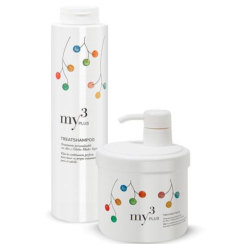 Plus Treatshampoo + Treatmentmask Personalizados