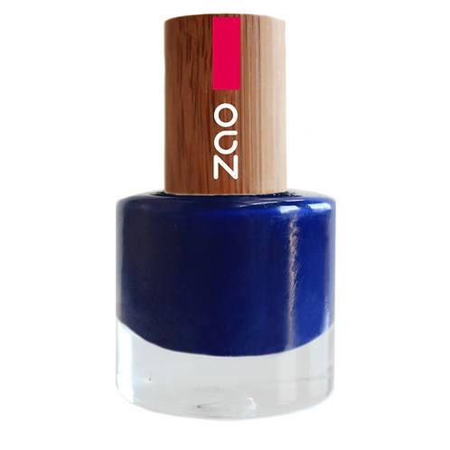 ZAO Esmalte de uñas 653 Blue Nuit