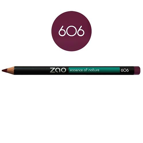 ZAO Lápiz 606 Multifunción - Prune