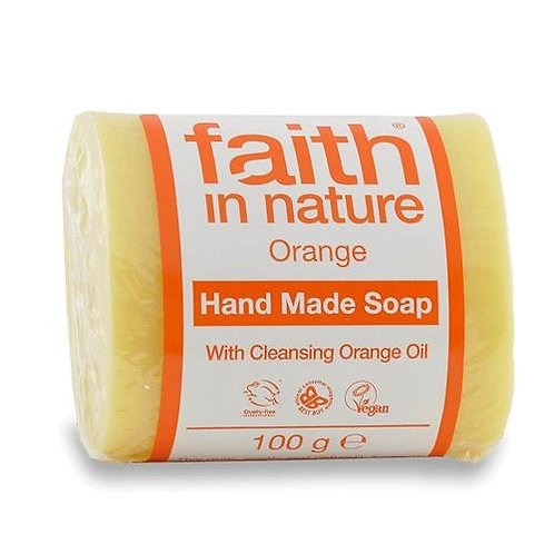 Faith in Nature - Pastilla Jabón de Naranja