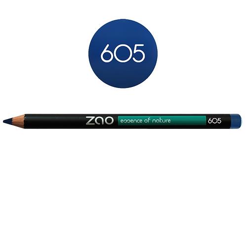 ZAO Lápiz 605 Eyeliner - Bleu nuit