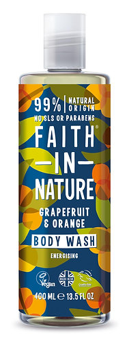 Faith in Nature - Gel de Baño Pomelo y Naranja