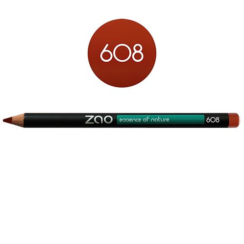 ZAO Lápiz 608 Multifunción - Brun Orange