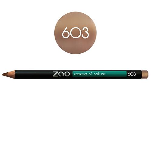 ZAO Lápiz 603 Multifunción - Beige nude