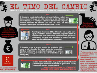 EL TIMO DEL CAMBIO