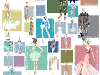 PANTONE FASHION COLORS VERANO 2015