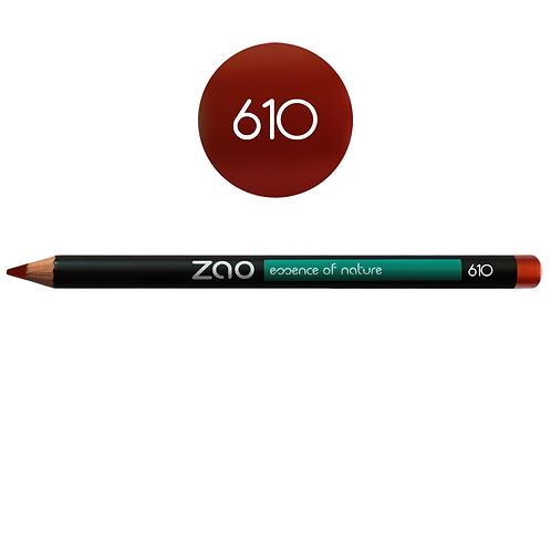 ZAO Lápiz 610 Multifunción - Rouge cuivré