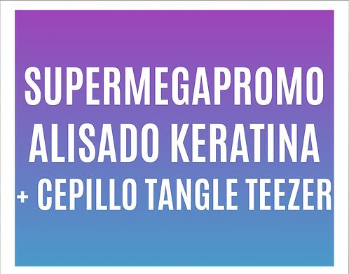 Supermegapromo Alisado Keratina +1 Cepillo Tangle Teezer