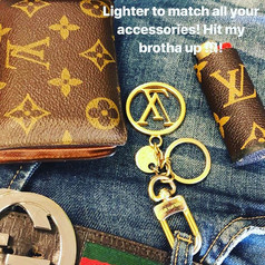 _therealkcobb _Rocking the LV without ch