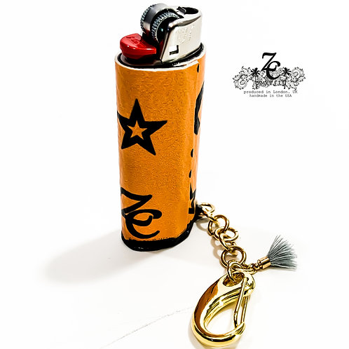 "ZC (SPOOKY) ""SLC18"" BIC CASE WITH 18k GP CHAIN"