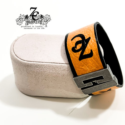 "ZC ""SPOOKY"" LEATHER BRACELET"