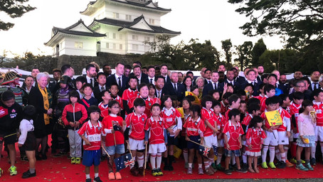 What a wonderful Odawara welcome for our Wallabies!