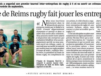 Le rugby fait jouer les entreprises
