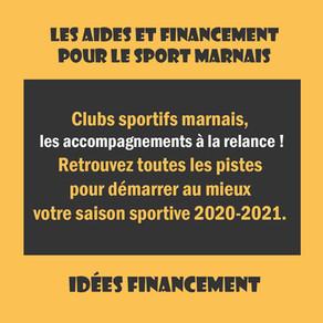 Idées financements :  Clubs sportifs marnais, voici les accompagnements à la relance !
