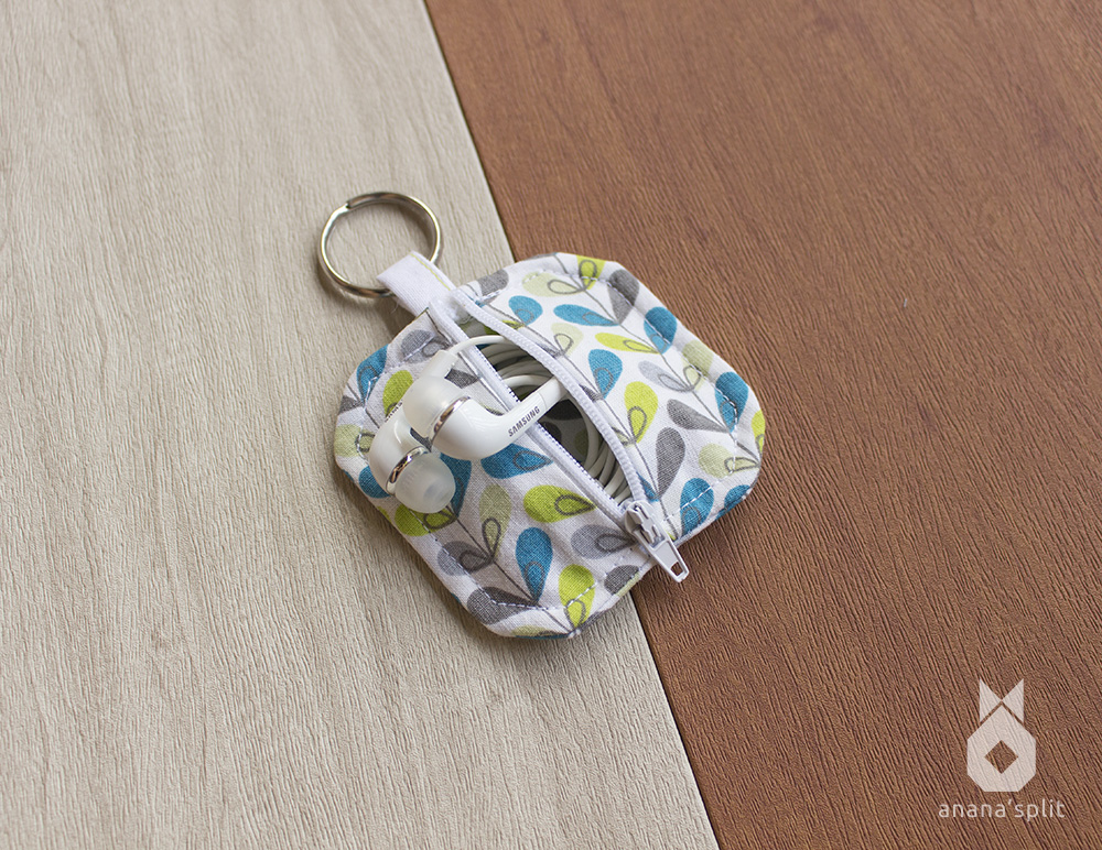 Porte-clefs en tissus
