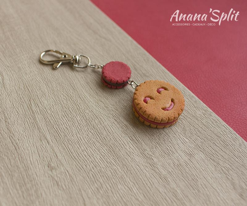 Porte-clefs : Biscuit BN