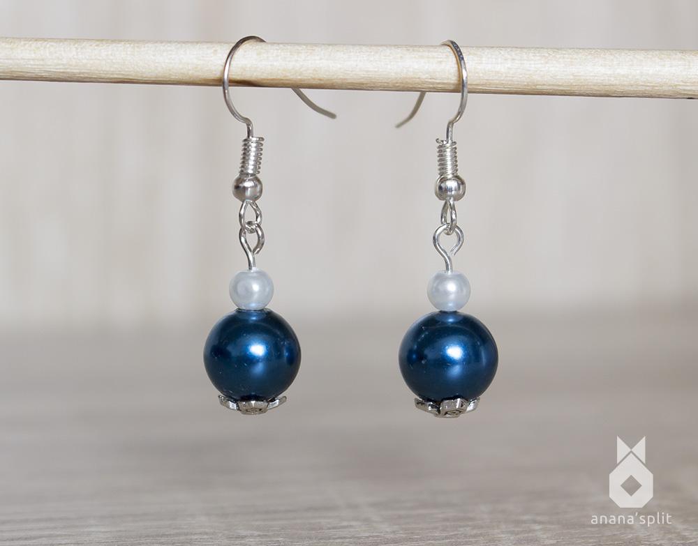 Boucles d'oreilles en perles
