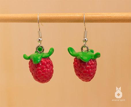 Boucles d'oreilles franboise