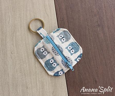 Porte clefs rangements écouteurs, pièces...