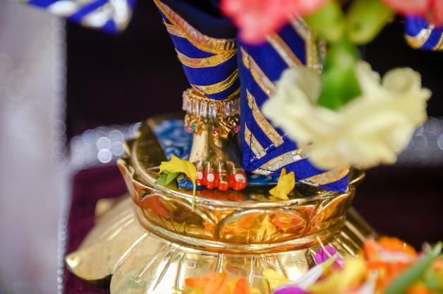 Lotus Feet of Nitai