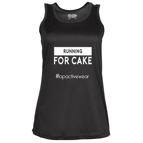 Running For Cake Fitted Technical Top