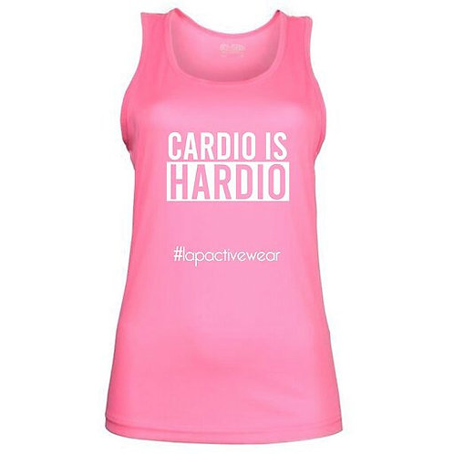 Cardio Is Hardio Fitted Top