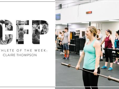 Athlete of the week - Feb 14