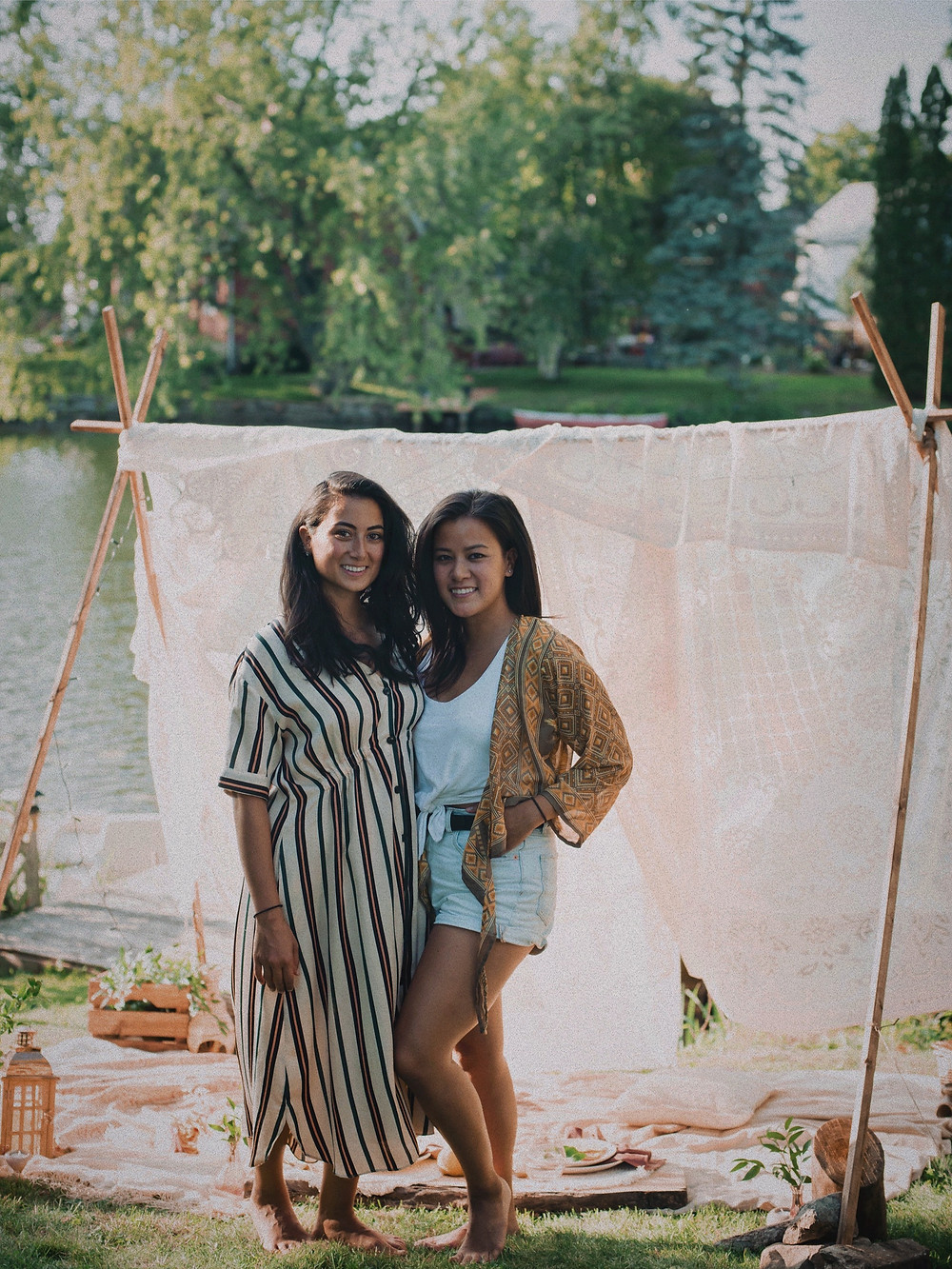 Rana and Theresa of Attia Events photographed by Photography by Johanne