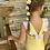 Thumbnail: Maiô babados amarelo