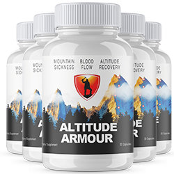 5 Bottles ALTITUDE ARMOUR