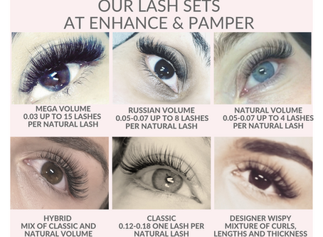 What type of lashes do I want?