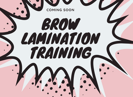 Brow Lamination Training Manchester