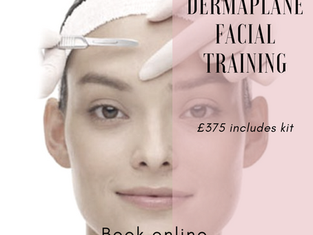 Dermaplaning Training Courses now available