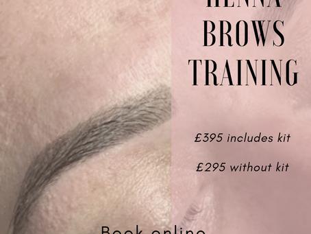 Henna Brows Training