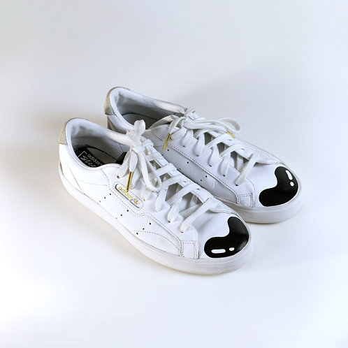 Painted Adidas Woman's 7 low top