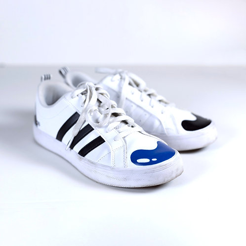 Painted Adidas Woman's 6.5 low top