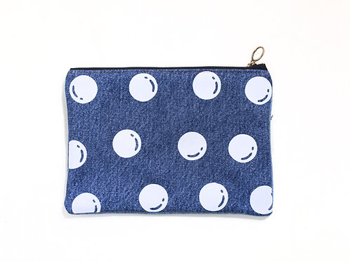 UPCYCLED DENIM POUCH