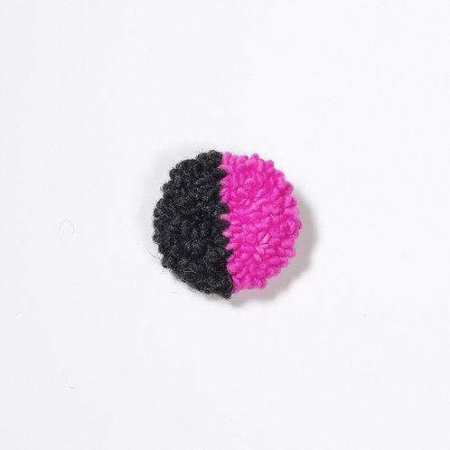 Handmade, Wool Punch Needle Pin