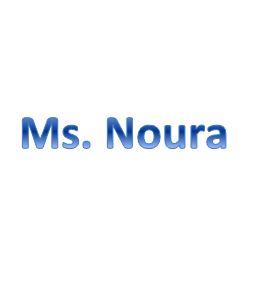 Ms. Noura