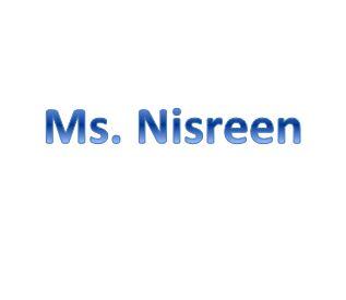 Ms. Nisreen