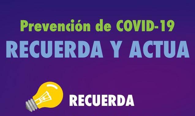 RECUERDA Y ACTUA - 29 de febrero 2020